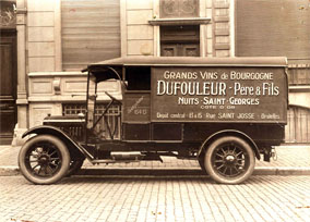 Early 20th Century delivery truck
